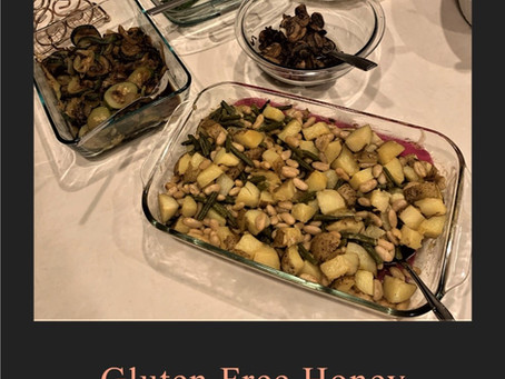Gluten Free Honey Mustard Potatoes, String Beans And Beans