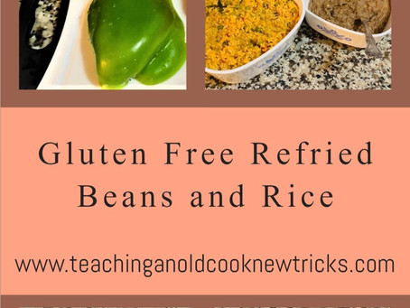 Gluten Free Refried Beans and Rice