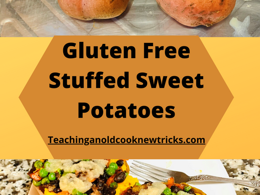 Gluten Free Stuffed Sweet Potato