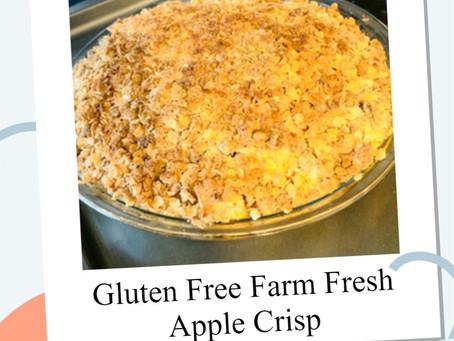 Gluten Free Farm Fresh Apple Crisp