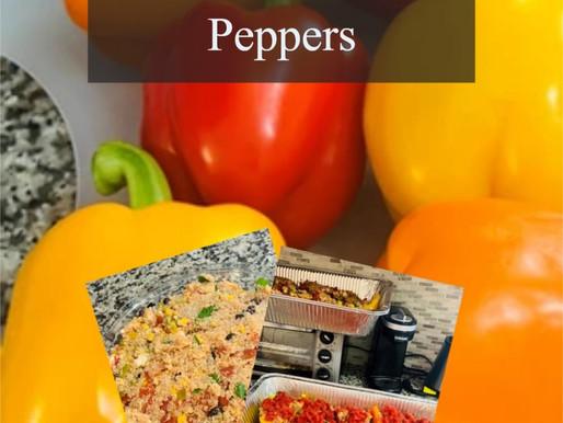 Gluten Free Quinoa Stuffed Peppers