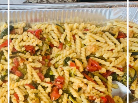 Pasta Primavera - Can Easily Be Made Gluten Free