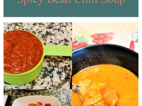 Gluten Free Creamy Spicy Bean Chili Soup