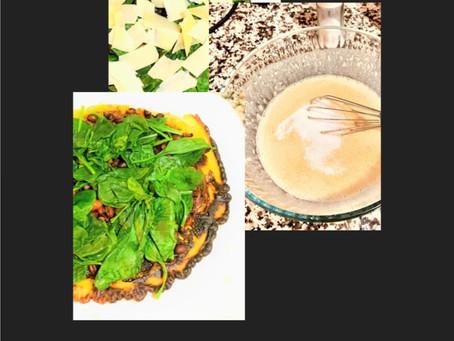 Gluten Free Flatbread Vegetarian Pizza