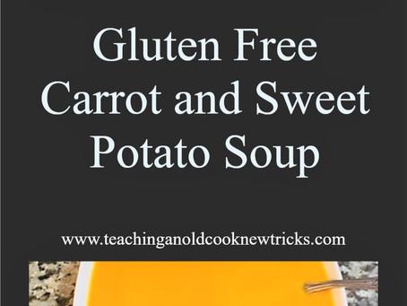 Gluten Free Carrot and Sweet Potato Soup