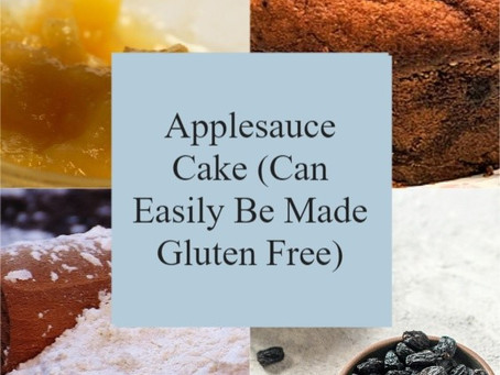 Applesauce Cake (Can Easily Be Made Gluten Free)