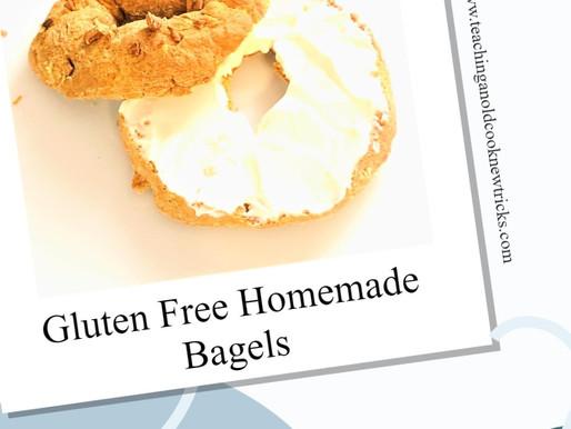 Gluten Free Homemade Bagels