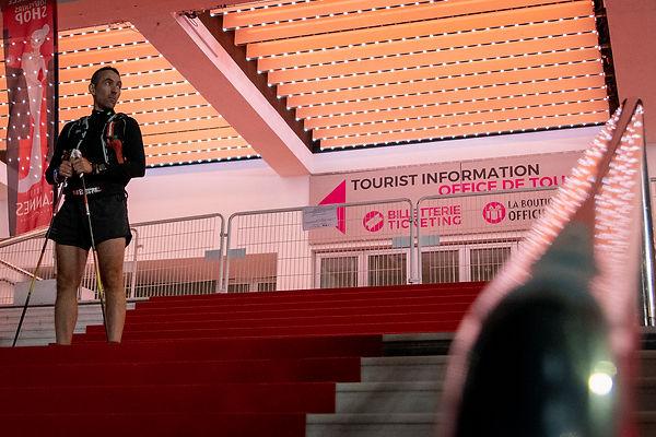 Cannes : tapis rouge : les marches