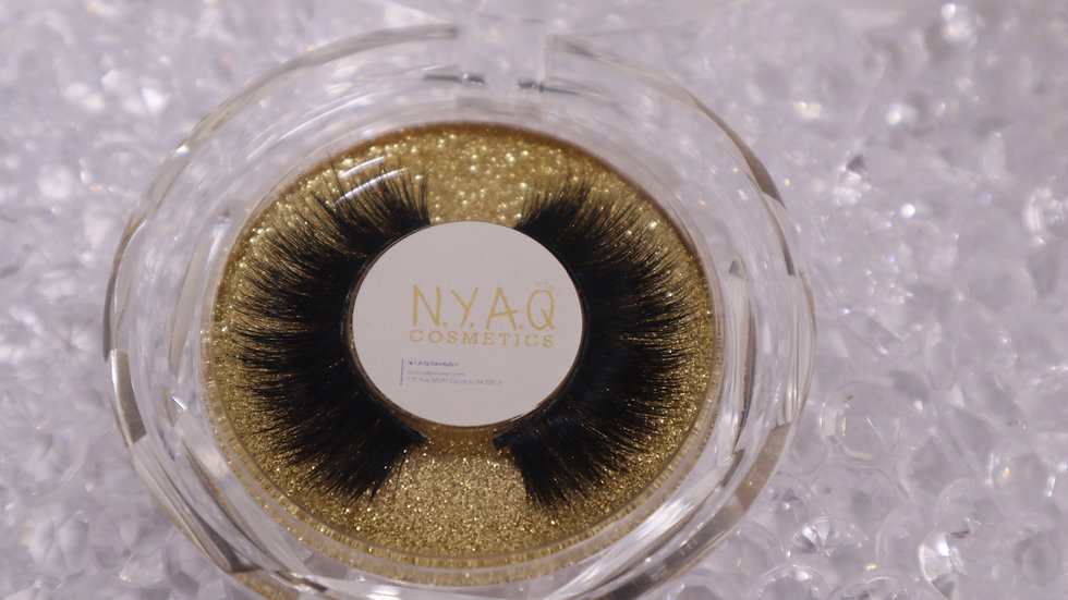 Mink Strip Eyelash Q5
