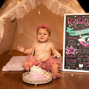Rylan's 1st Birthday!