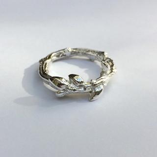 Oak twig ring