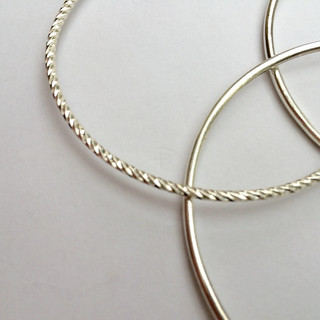 Three ring bangle