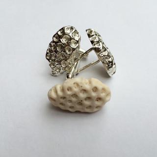 Coral cufflinks
