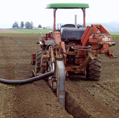 Trenching and PVC Mainline