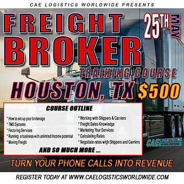 CAE FREIGHT FREIGHT BROKER TRAINING FLYE