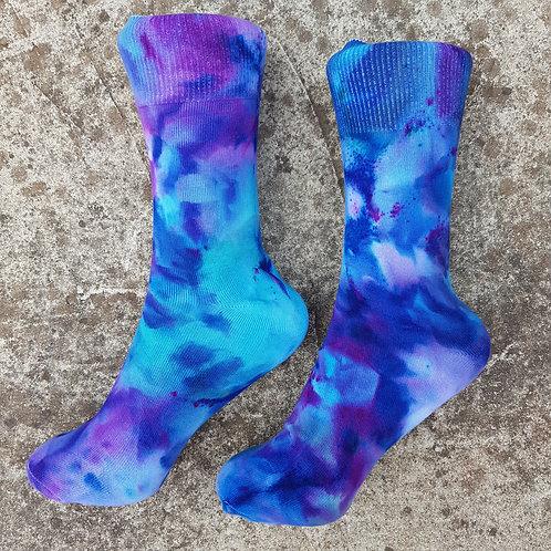 Unisex Tie Dye Ice Dyed Socks - Mirage