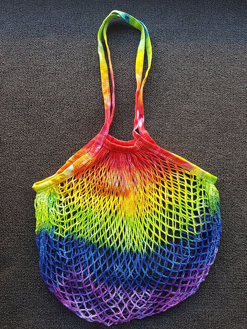 Eco-Friendly String Bag - Rainbow