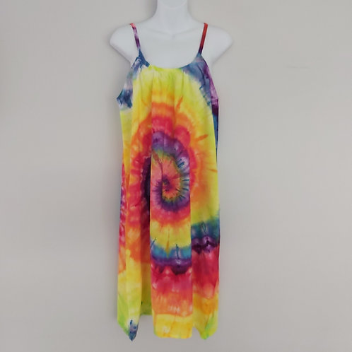 Summer Dress - Rainbow Spiral