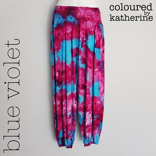 Gypsy Pants - Blue Violet