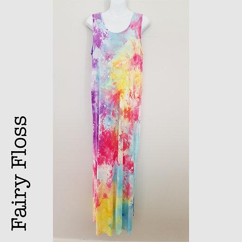 Ladies Jersey Tank Dress - Fairy Floss