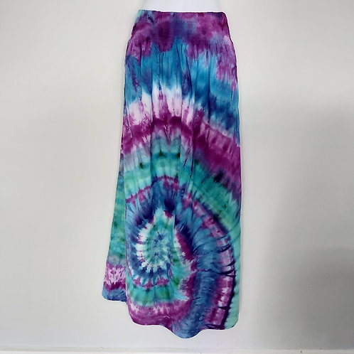 Maxi Skirt with Pockets -Mirage