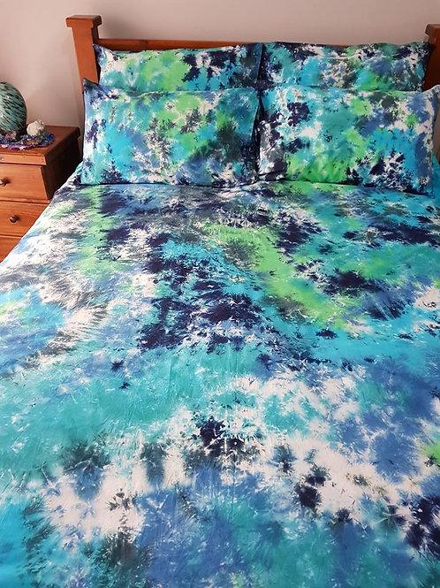 Quilt Cover Set - Liquid Marble