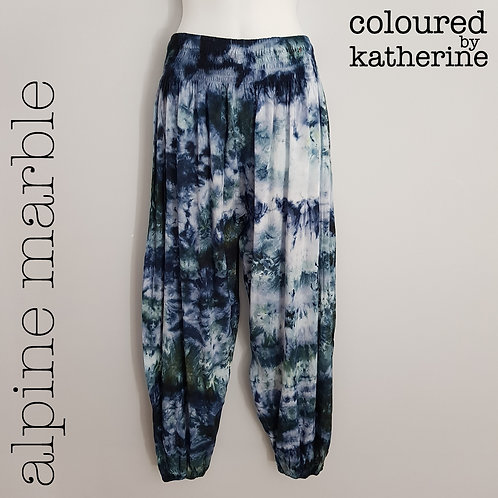 Gypsy Pants - Alpine Marble
