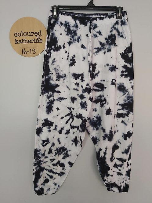 Cotton Joggers - Black & White