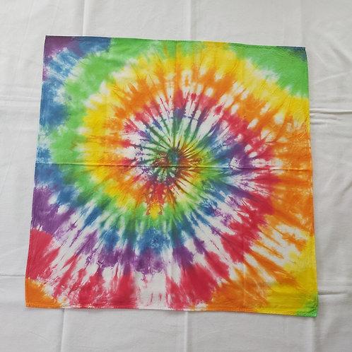 Bandana - Rainbow Spiral