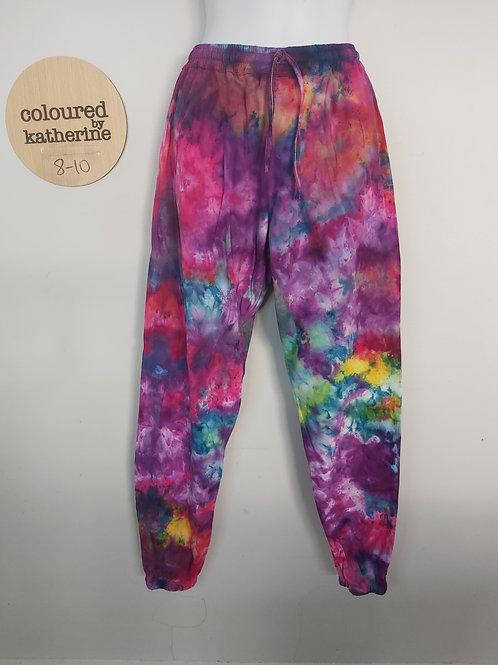 Cotton Joggers - Kaleidoscope - Ice Dye
