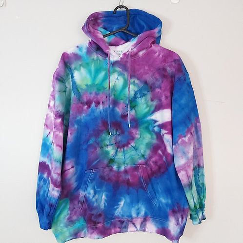 """Tie Dyed Adults Unisex Hoodie -Ice Dyed """"Mirage"""""""
