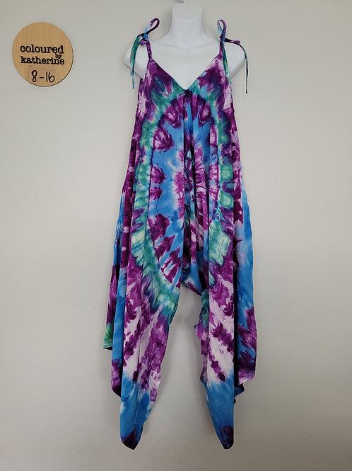 Jumpsuit - Tie Dye Mirage Ice Dye