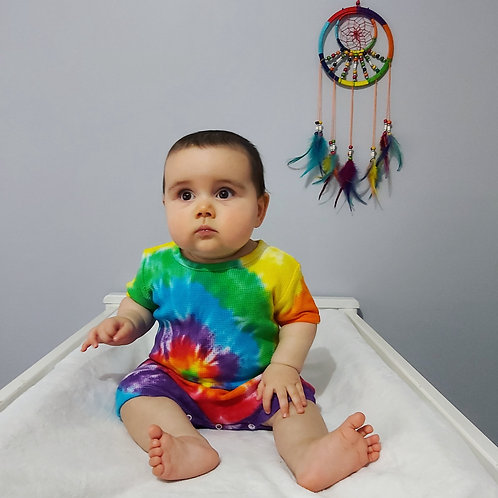 Baby Waffle Romper