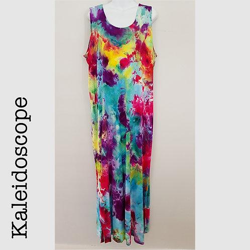 Ladies Jersey Tank Dress - Kaleidoscope