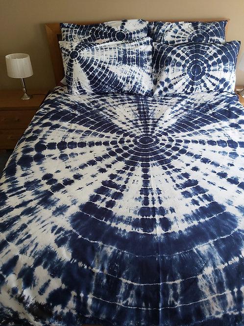 Quilt Cover Set - Shibori Geode