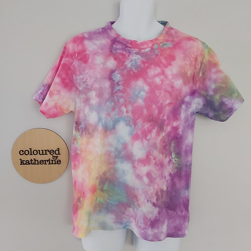 Unisex Adults Tee - Pretty Pastels Marble