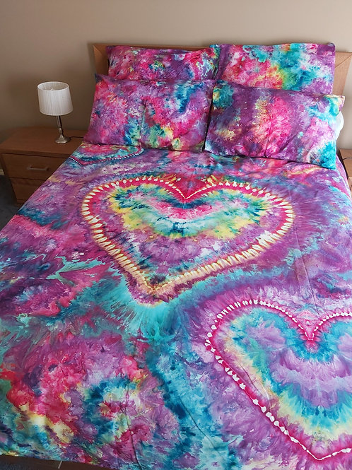 Quilt Cover Set - Heart