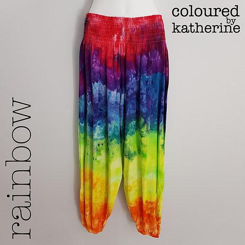 Gypsy Pants - Rainbow Marble