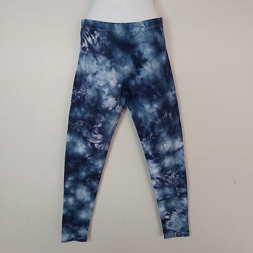 Leggings - Blue Ice Dye