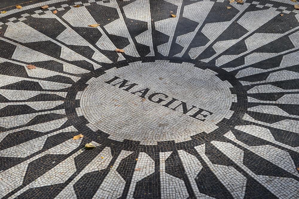 "Mosaic tiles ""Imagine"""