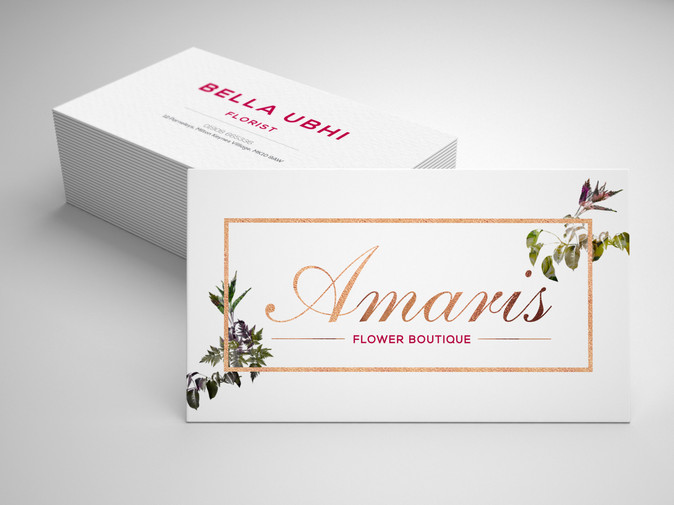Amaris Boutique_ Busines Card_Designed by Latoya Antonia