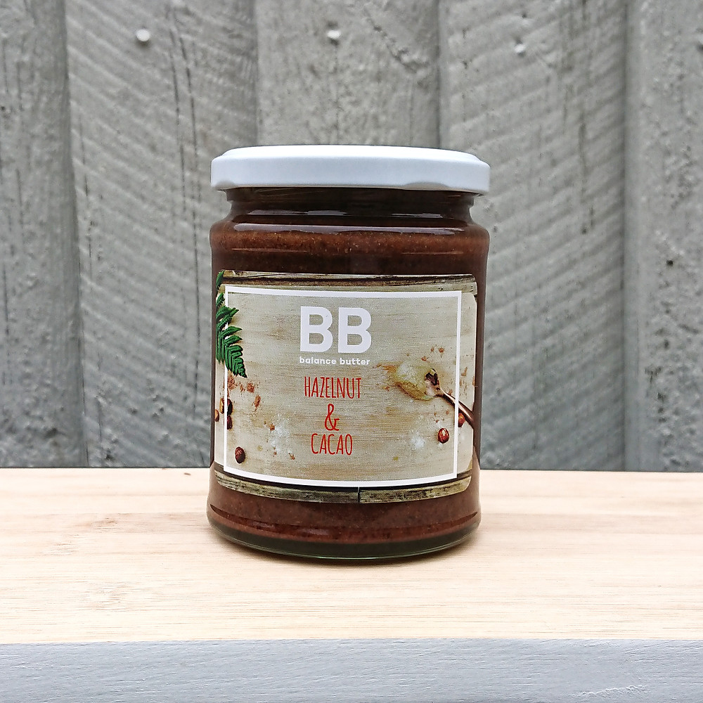Hazelnut  & Cacao Activated Nut Butter_Balance Butter