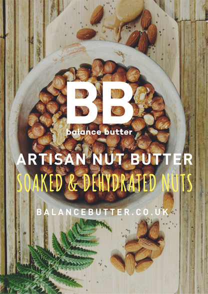 Balance Butter Ingredients postcard