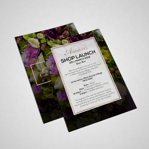 Amaris Boutique_ Leaflet_Designed by Latoya Antonia