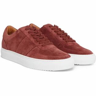 Mr P. Larry Suede Sneakers- Brick