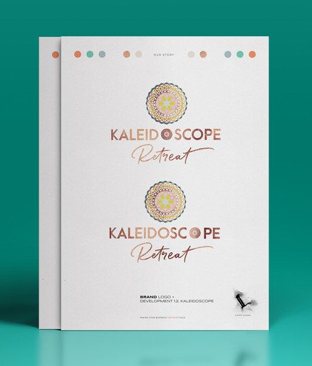 Kaleidoscope Retreats Brand Logo Development_Designed by Latoya Antonia