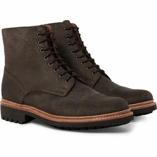 GRENSON- Joseph Cap Toe Suede Boots