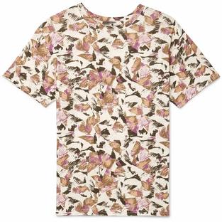 Isabel Marant- Camron Printed Linen T-Shirt
