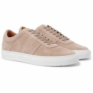 Mr P. Larry Suede Sneakers- Beige