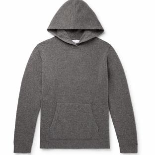 NN07- Mark Slim-Fit Wool-Blend Hoodie